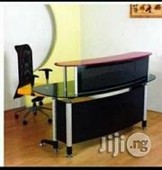 Receptionist Office Glass 1.6m | Furniture for sale in Lagos State, Ojo
