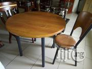 Wooden Top Restaurant Dining Table 1+4. | Furniture for sale in Lagos State, Ojo