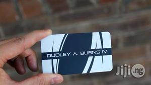 Metal Business Card : Class At Its Peak