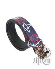 Gucci Belts With Genuine Fashion Prints Tiger Buckle Multicolour | Clothing Accessories for sale in Lagos State, Ikeja