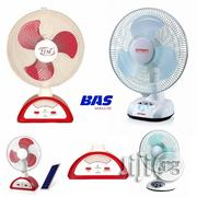 14 Inch 2tm / 12 Inch Qasa Rechargeable Table Fan | Home Appliances for sale in Lagos State, Ikeja
