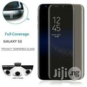 Samsung S8/S8plus Anti Spy Glass Protector | Security & Surveillance for sale in Lagos State, Ikeja