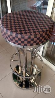 High Quality Unique Executive Round Leather Sit Bar Stools | Furniture for sale in Lagos State, Ojo