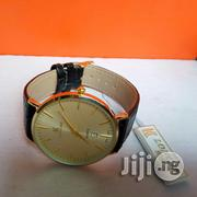 Loncar Gold Leather Strap Watch | Watches for sale in Lagos State, Lagos Island